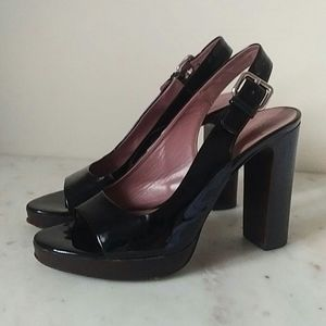 MIU MIU- vintage patent leather sandals